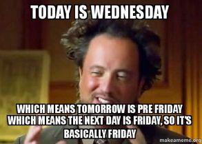 WednesdayFriday