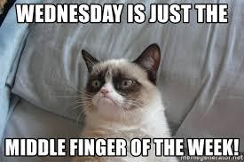 wednesdaymiddlefinger