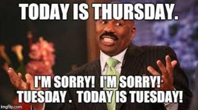TuesdaySorry